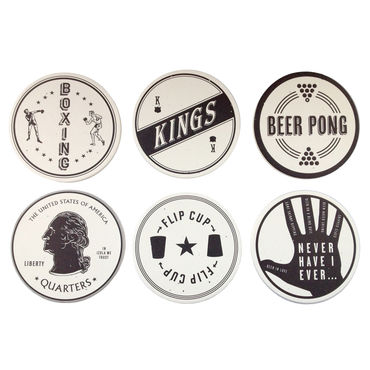 Izola Drinking Game Coasters