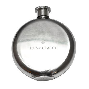 Izola To My Health Flask