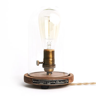 Southern Lights Electric The Original Bell Jar Table Lamp