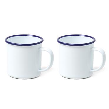 Falcon Enamelware (2) Enamel Mug