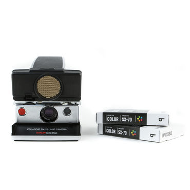 Impossible Project Polaroid SX-70 Sonar Camera Kit