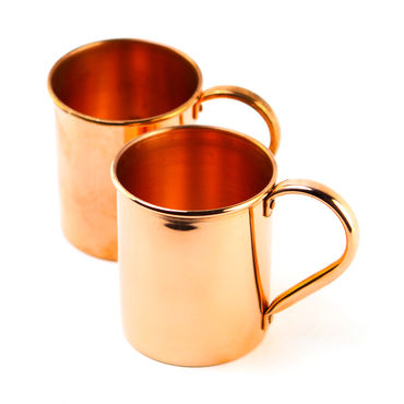 Huckberry Pair of Moscow Mule Mugs (18 oz)
