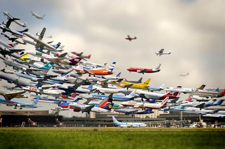 Hero airplanes